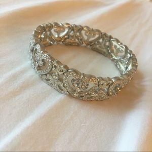 Shiny silver bracelet 😊